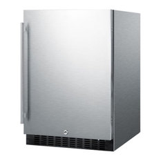 """Summit 24"""" Built In/Freestanding Outdoor Refrigerator + Fully Finished Cabinet"""