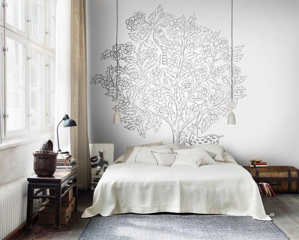 15 kreative ideen f r die wand hinter dem bett. Black Bedroom Furniture Sets. Home Design Ideas
