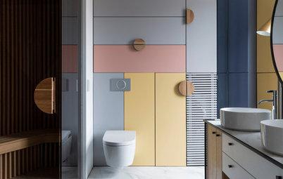 Просто фото: Шкафы с красивым фасадом — 30 идей
