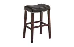 Lewis Counter Stools, Set of 2, Black