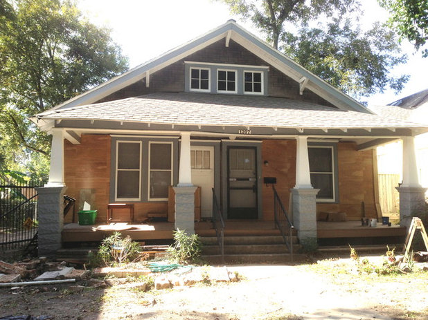 1920 Craftsman Rehab in Houston Heights Historic District