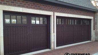 Custom Composite Carriage House Garage Doors