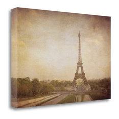"""Tour De Eiffel"" By Heather Jacks, Giclee Print on Gallery Wrap Canvas"