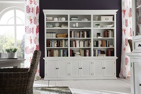 Belgravia Painted Triple Bay Buffet   Hutch   China Cabinets And Hutches. Kitchen and Dining Room Dressers