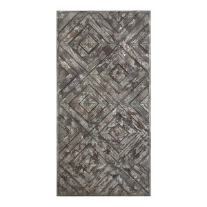 Uttermost Jaymes Oxidized Panel Farmhouse Wall Accents By Buildcom