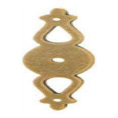 Hafele: Backplate: Brass: Antique: 99 X 24mm