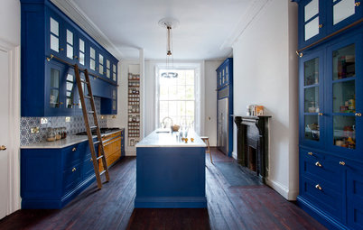 Kitchen of the Week: A Dublin Revamp That's Tall, Dark and Handsome