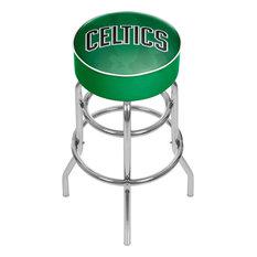 NBA Padded Swivel Bar Stool Fade Boston Celtics