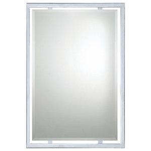 Quoizel UPRZ43426C Mirror Vanity Lighting Small Polished Chrome