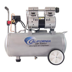 8010 Ultra Quiet and Oil-Free 1.0 HP, 8.0-Gallon Steel Tank Air Compressor