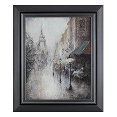 """22""""x26"""" Paris Walk III Framed Wall Art"""