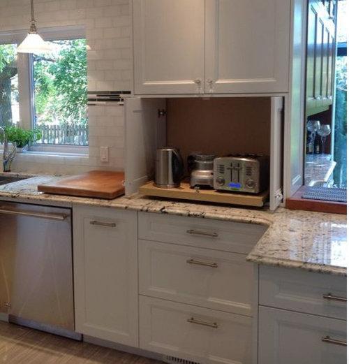 Where can I get an appliance garage rollout shelf?