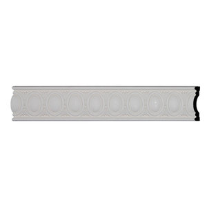 6 H X 1 5 8 P X 94 1 2 L Acanthus Leaf Chair Rail Traditional Molding And Trim By Architecturaldepot