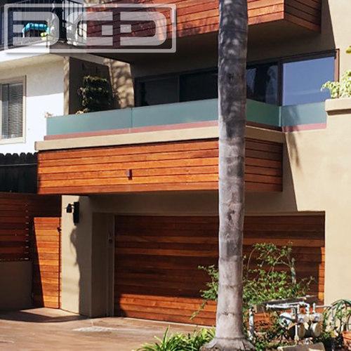 Superieur Luxury Ipe Garage Doors U0026 Gates In A Modern Architectural Design
