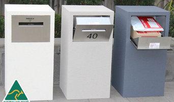 Deliver-Eze Parcel Letterbox - Mosman (Pillar)