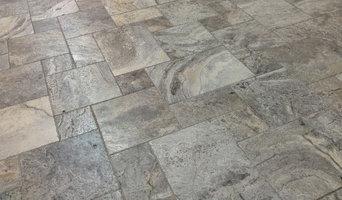 Silver French Pattern Travertine Tile