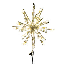 Brite Ideas Decorating   LED Starburst Decoration, Warm White, Small    Holiday Lighting