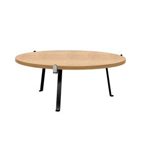 Arch Oak Coffee Table, Natural