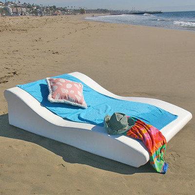 La Fete Tide Duo Low Pro Sun Lounge   Outdoor Chaise Lounges