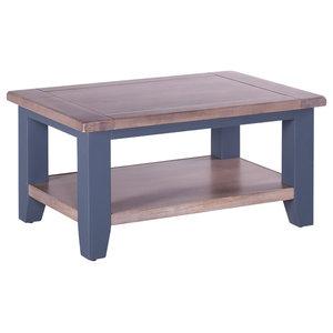 Rectangular Coffee Table, Dark Grey