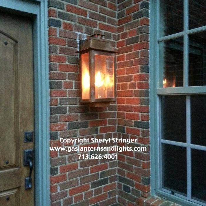 Sheryl's Industrial Gas Lantern