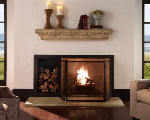 The Carlotta Mantel Shelf - Fireplace Mantels