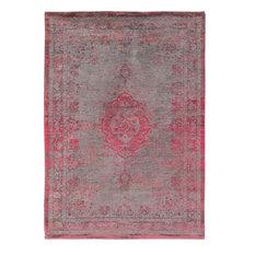 Fading World Area Rug, Pink Medallion, 170x240 cm