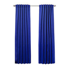 Exceptional Best Home Fashion   Solid Thermal Insulated Blackout Curtains, Pair, Royal  Blue, 108