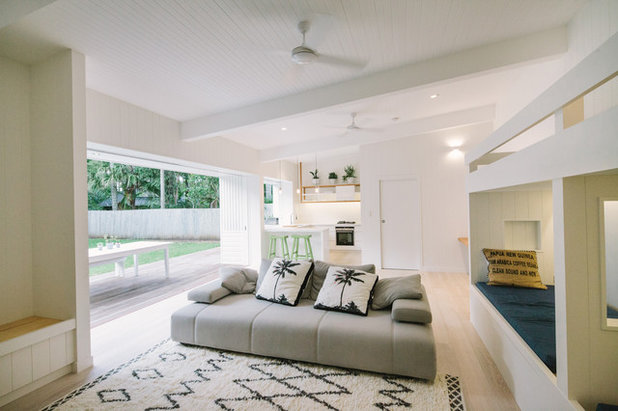 Stickybeak Of The Week A Byron Bay Guesthouse Prepped For Summer - Byron bay beach home designed by davis architects