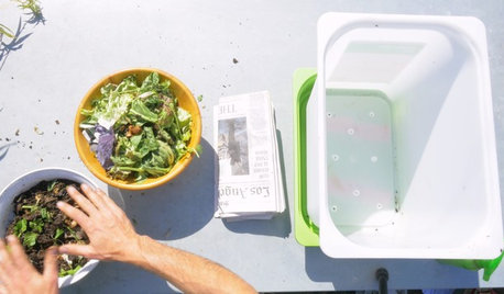 Houzz TV: How to Make a Worm Bin for Composting