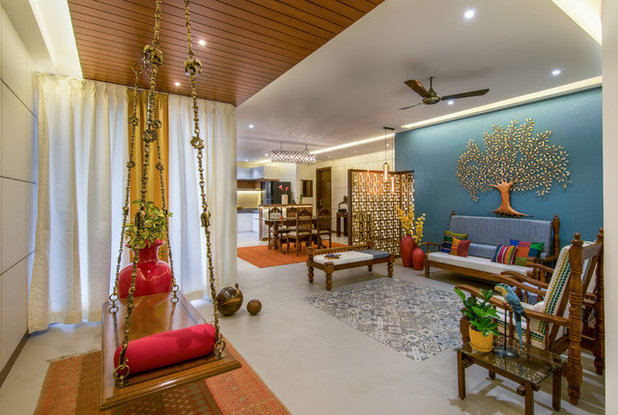 Indian Living Room by studio TAB