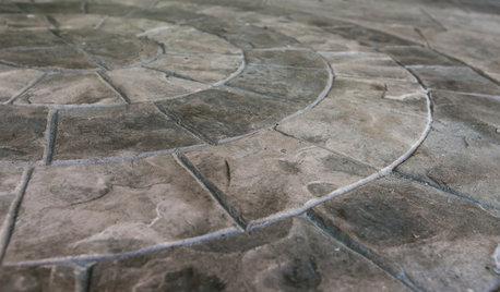 Focus Matière : Le béton à empreintes révolutionne les extérieurs