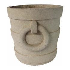 Aztec Round Medium Planter