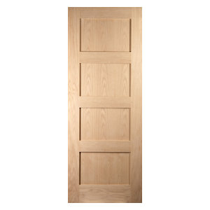 Shaker 4-Panel Interior Fire Door, 73x204 cm
