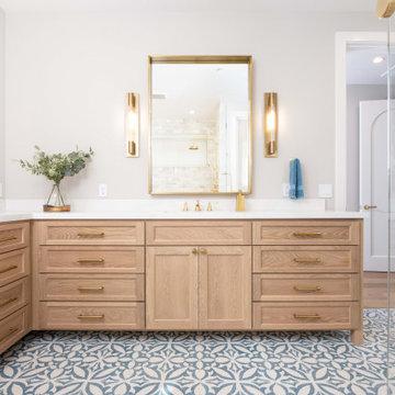 Lucas Ranch - Mediterranean Master Bathroom