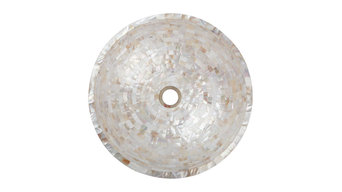 Mother of Pearl Vessel Basins