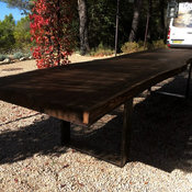 Extra Large Outdoor Dining Table