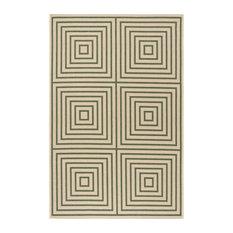 Navagio Green Multipurpose Indoor/Outdoor Rug, 200x289 cm