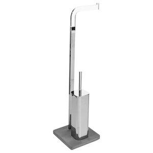 Cement Freestanding Toilet Butler