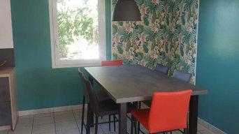 Décoration d'un espace repas - Aprés