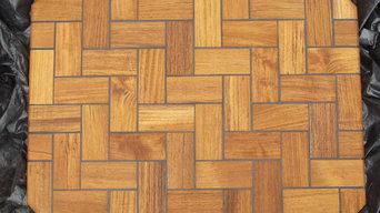 Holzteppiche