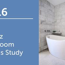 2016 U.S. Houzz Bathroom Trends Study