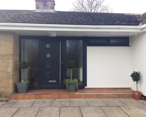 Matching Anthracite Grey Solidor Milano front door and Hörmann ...