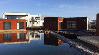 Neubau Bürogebäude mit angrenzendem modularen Musterpark in Winsen Luhe