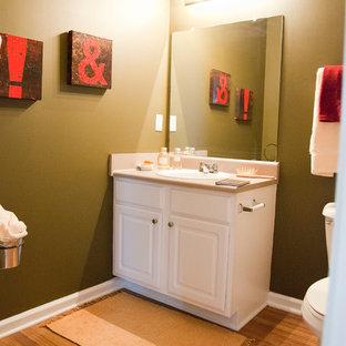 Trendy home design photo in Atlanta