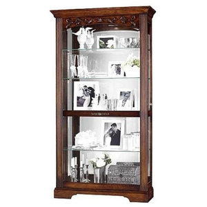 Howard Miller Andreus Curio Cabinet Traditional China
