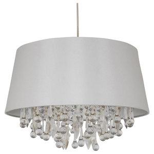 Fifi Pendant Light Shade Ivory
