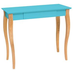 Lilo Medium Scandinavian Desk, Dark Turquoise