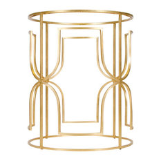 Dining Table Base, Base: Gold Leaf, Without Top