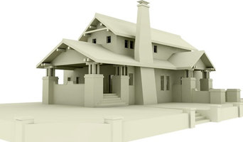 Craftsman Home Concept Drawings :: Clay Model